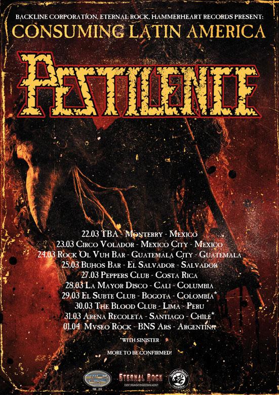 Consuming south america tour pestilence pestilence recent posts freerunsca Images